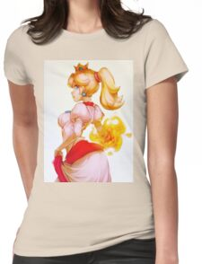 Fire Princess Womens Fitted T-Shirt