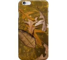 Floating Gold, Honey, Amber and Caramel iPhone Case/Skin