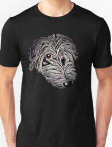 Cheeky lurcher pup Unisex T-Shirt
