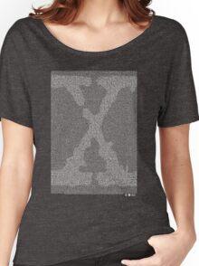 The X-Files Pilot Script - White Women's Relaxed Fit T-Shirt