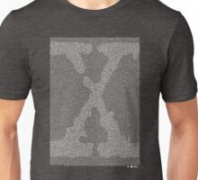The X-Files Pilot Script - White Unisex T-Shirt