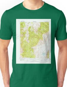 USGS TOPO Map California CA Blanco Mountain 296837 1951 62500 geo Unisex T-Shirt