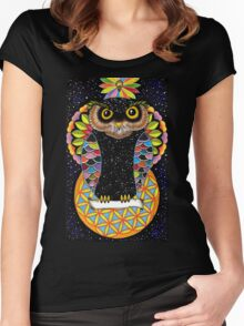 Owl Of Life Women's Fitted Scoop T-Shirt