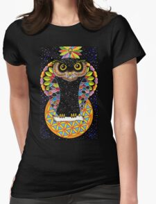 Owl Of Life Womens Fitted T-Shirt