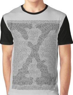 The X-Files Pilot Script - Black Graphic T-Shirt