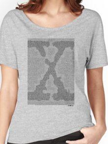 The X-Files Pilot Script - Black Women's Relaxed Fit T-Shirt
