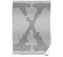The X-Files Pilot Script - Black Poster