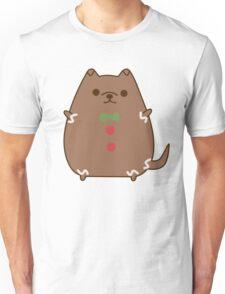 Cute Christmas Gingerbread Pupsheen Unisex T-Shirt