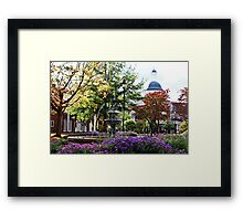 Just Take a Seat Framed Print