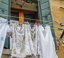 clothes hanging by spetenfia