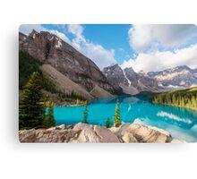 Moraine Lake Banff National Park Canvas Print