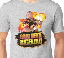 Bam Bam Bigelow Fireball Design Unisex T-Shirt