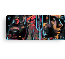 Blade Runner Montage Canvas Print