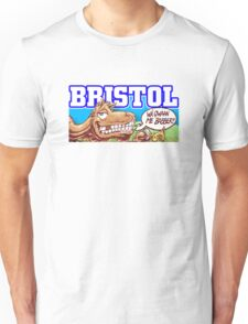 Bristol City culture grafitti   Unisex T-Shirt