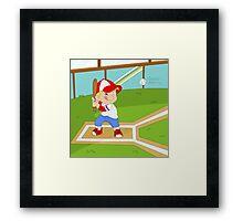 Non Olympic Sports: Baseball Framed Print