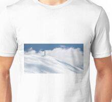 The cross of Monte Catria in winter Unisex T-Shirt