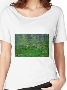 Laplandic Reindeer Women's Relaxed Fit T-Shirt