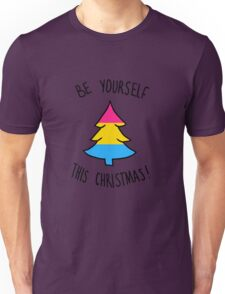 Be Yourself This Christmas - Pansexual Unisex T-Shirt