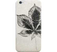 Leaf Print III iPhone Case/Skin