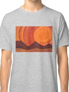 Western Sky Wave original painting Classic T-Shirt