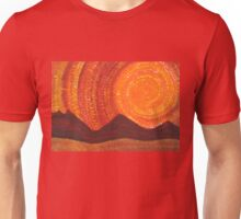 Western Sky Wave original painting Unisex T-Shirt
