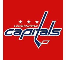 capitals ice hockey logo Photographic Print