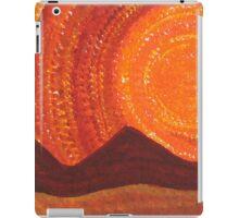 Western Sky Wave original painting iPad Case/Skin