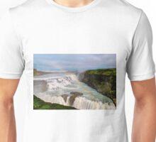 Rainbow over Gulfoss Unisex T-Shirt