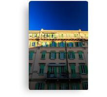 sunset in Trieste Canvas Print