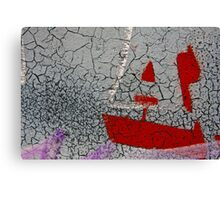 my little boat Canvas Print