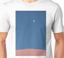 The cross of Monte Catria and the Moon at dusk Unisex T-Shirt
