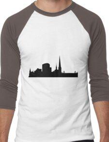 Dortmund skyline Men's Baseball ¾ T-Shirt