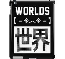 WORLDS Design iPad Case/Skin