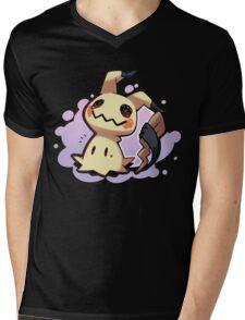 Mimikyu  Mens V-Neck T-Shirt