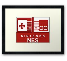 NES SWITCH Style Framed Print