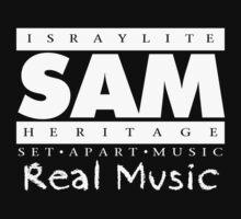 SAM REAL MUSIC  WHITE by NatanYah Ysrayl