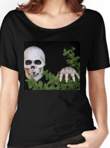 Be Afraid...Be Very Afraid! Women's Relaxed Fit T-Shirt