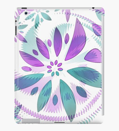 abstract flower iPad Case/Skin