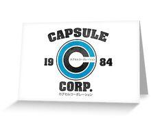 Capsule Corp Greeting Card