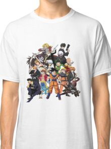 All Anime Heroes Manga Classic T-Shirt