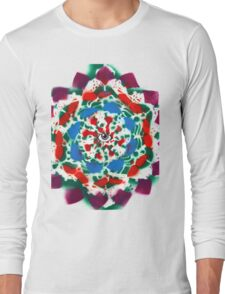 Mandala Of Life Long Sleeve T-Shirt