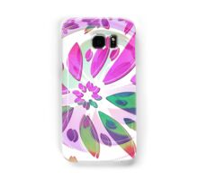 abstract flower Samsung Galaxy Case/Skin