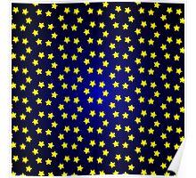 Christmas star design  Poster