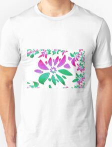 abstract flower Unisex T-Shirt