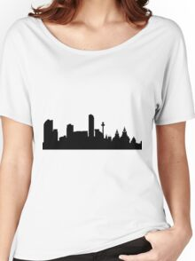 Liverpool skyline Women's Relaxed Fit T-Shirt