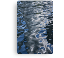 Dreaming of Silk Dresses - Mesmerizing Liquid Curls, Twists and Zigzags Canvas Print