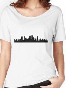 Boston Skyline Women's Relaxed Fit T-Shirt