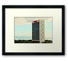 Hotel by Callum Morton Framed Print