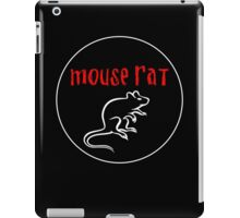 Mouse Rat band logo iPad Case/Skin