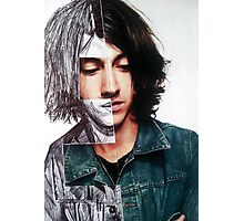 Alex Turner Two-Faced Photographic Print